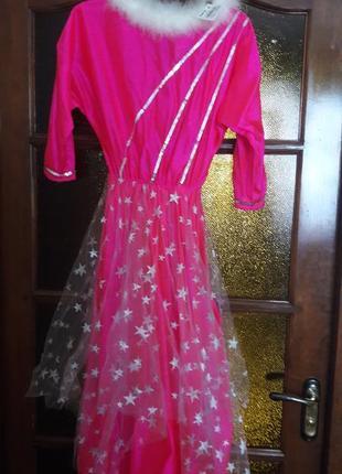 Платье для утренника на новый год
