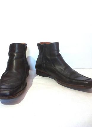 Кожаные демисезонные мужские ботинки от бренда lambretta, р.42 код m4201