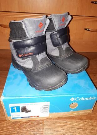 Зимние сапоги, ботинки columbia