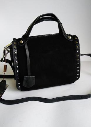 Женская сумочка из натуральной замши ! новинка