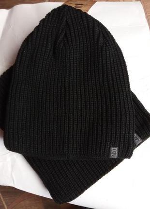 Набор шапка + баф