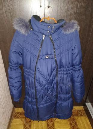 Пуховик для беременных, куртка теплющая