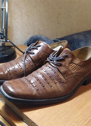 Туфли ( нат.кожа) 27 см по стельке