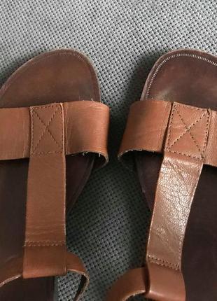 100% кожаные классные босоножки vagabond