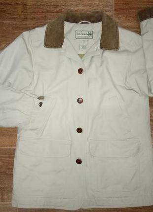 Куртка оверсайз термо l.l.bean