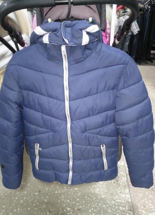 Куртка зимняя для мальчика подростка