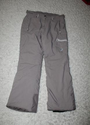 Женские горнолыжные брюки quechua, красивого темно-бежевого цвета, размер м-l