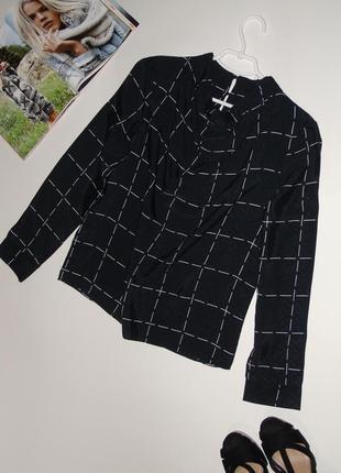 Новая черная блузочка от new look