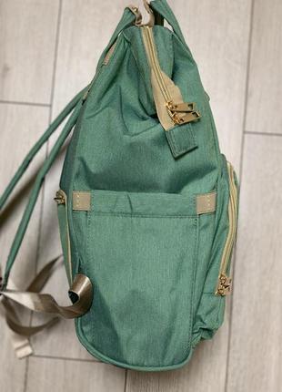 Рюкзак сумка для мам, рюкзак сумка для мамы сумка органайзер с креплениям3 фото