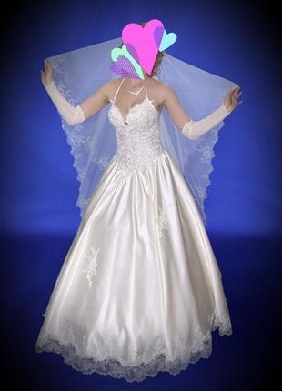 Очень классное свадебное платье