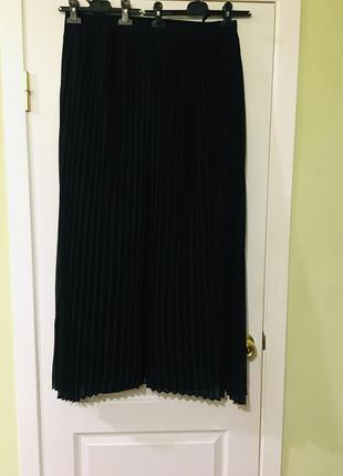 Шикарная гофрированная юбка с брюками