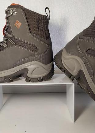 Columbia liftop оригинал кожаные термо ботинки сапоги зима