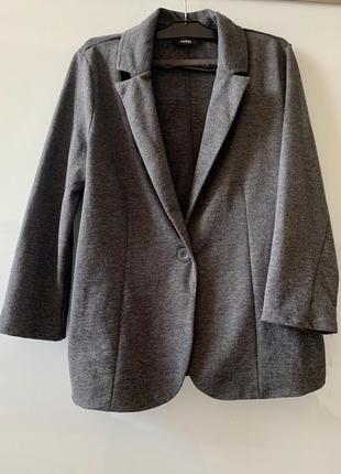 Стильный лёгкий пиджак george 12 40 l трикотажный пиджак жакет