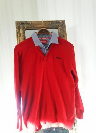 Яркий пуловер #diesel #оригинал