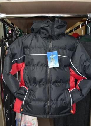 Зимняя теплая термокуртка для мальчика 5-6 лет