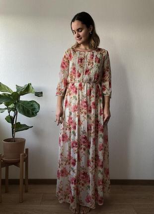 Платье в пол forever 21