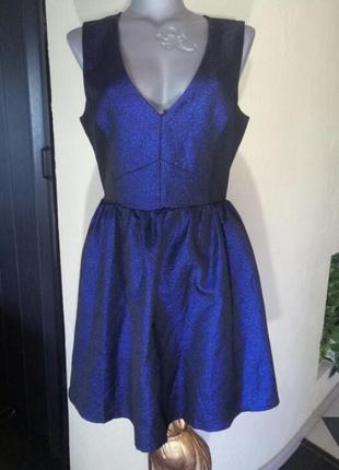 Новогодняя скидка!платье беби долл, с оригинальной спинкой,батал