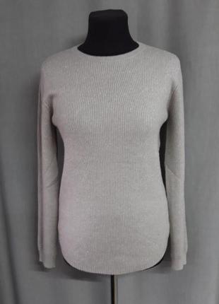 Шикарный тёплый свитерок с люрексом hostar