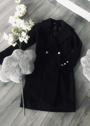 Новое кашемировое демисезонное пальто!