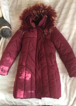 Зимняя курточка на подростка  11.11скидка