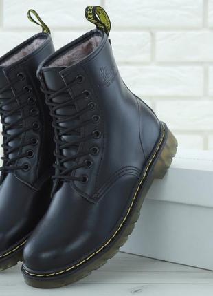Ботинки dr martens на меху (зима)