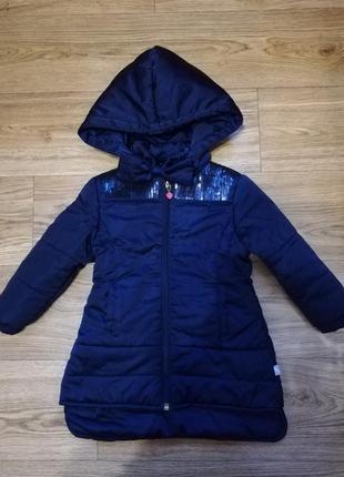 Куртка /курточка /парка /пальто деми осень /весна на девочку 1-2 года
