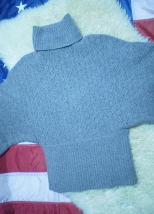 Теплый шерстяной свитер с горловиной cherokee