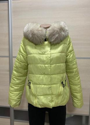 Демисезонная куртка б/у