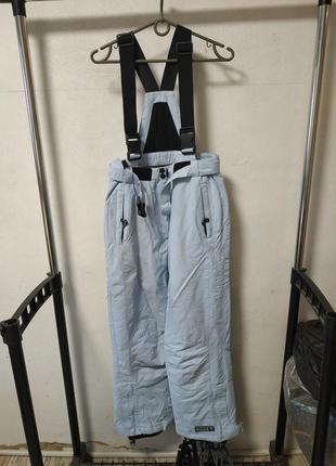 Лыжные штаны полукомбинезон на рост 164 см*
