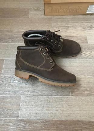 Кожаные ботинки timberland 8w
