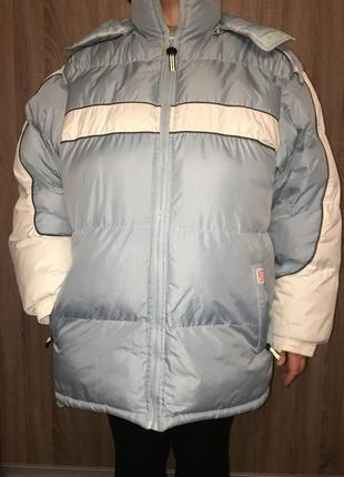 Шикарная большая куртка ! бомба! теплее нет, в -25 не холодно!
