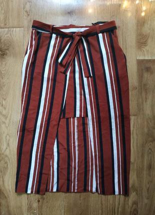 Успей!фактурная шифоновая юбка оригинального кроя!
