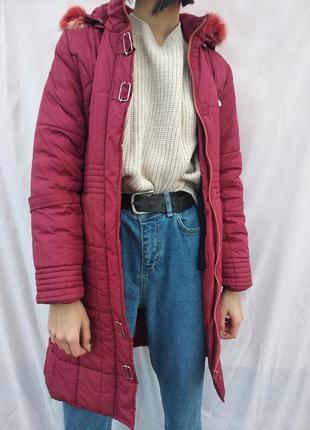 Длинная куртка демисезон
