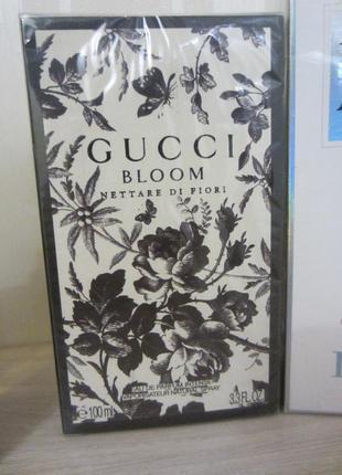 Срочно gucci bloom nettare di fiori 100 ml новый лимитка