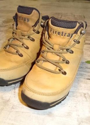 Фирменные ботинки firetrap-28р.