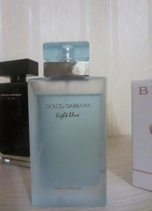 Dolce&gabbana light blue eau intense остаток и нюанс подарок