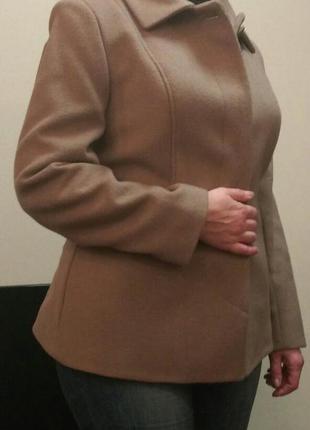 Пальто шерстяное демисезонное, jhiva