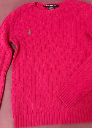 Трендовый свитер ralph lauren оригинал