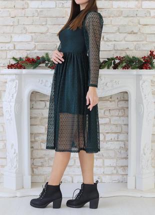 Изысканное платье для новогодней вечеринки