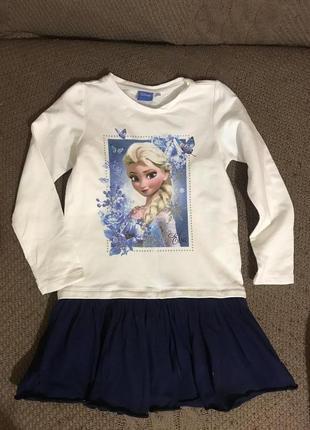 Платье disney frozen