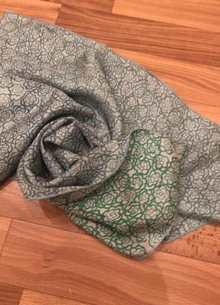Двухсторонний шёлковый платок promod