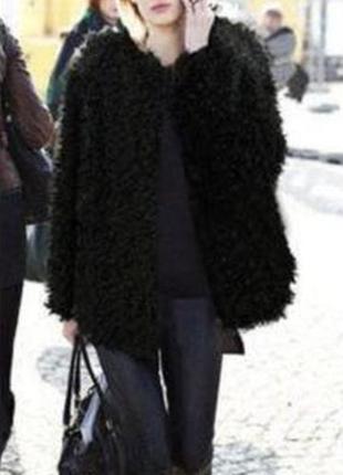 Актуальная плюшевая шубка полушубок тедди барашек овечка куртка