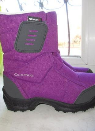 Зимние термо ботинки quechua 29 р