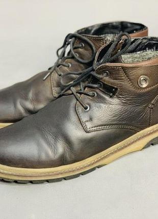 Ботинки зимние натуральная кожа шерсть