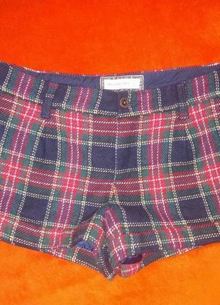 Шерстяные шорты abercrombie and fitch