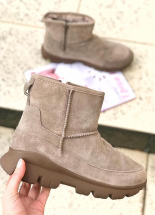 Безумно легкие и мягкие ботинки зима