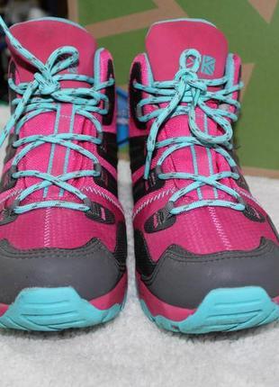Демисезонные ботинки karrimor англия waterproof !!!!!!