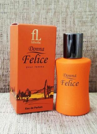 "Парфумерна вода ""donna felice"" (faberlic), 50 мл"