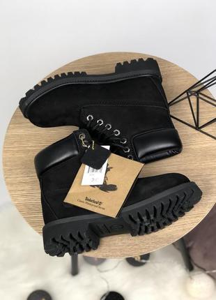 Тимберленды ботинки зимние рыжые мех 36-44р