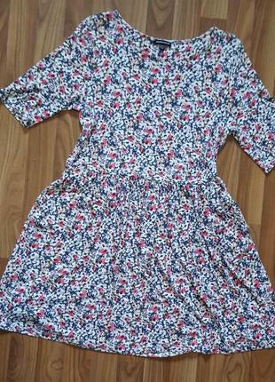 Платье с цветочным принтом, плаття